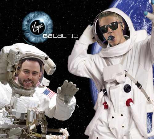 Justin Bieber chi 5 tỉ mua vé ra vũ trụ - 1