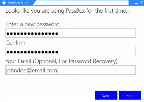 Quản lý mật khẩu trên Windows với PassBox - 1