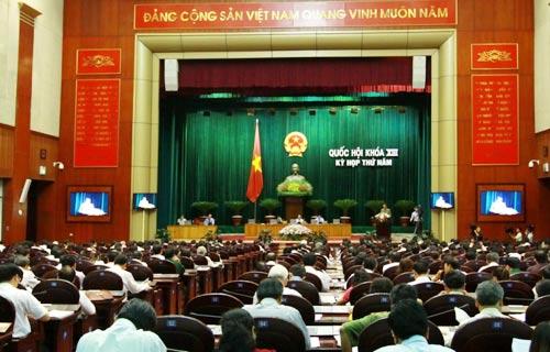 Quốc hội lấy phiếu tín nhiệm 47 lãnh đạo - 1
