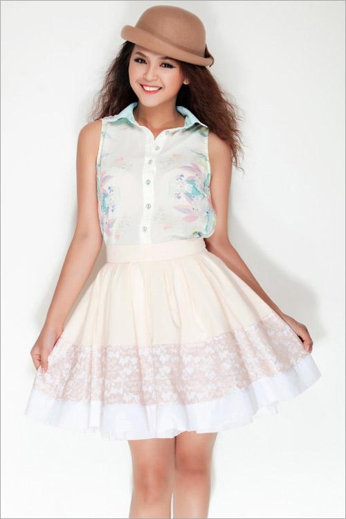Chọn váy hè chất lượng cùng Hotgirl 9X - 1