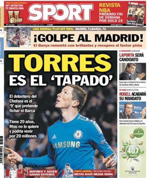 Barca hỏi mua Torres - 1