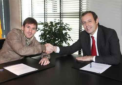 Chủ tịch của Barca tin Messi trong sạch - 1