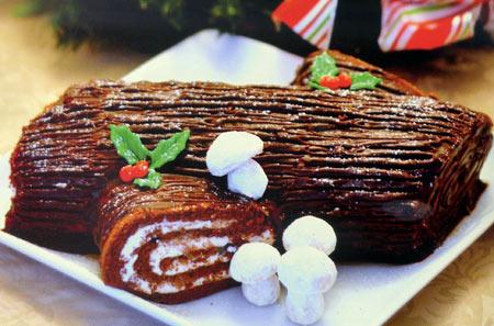 Bánh khúc cây lạnh vị chocolate - xoài - 1