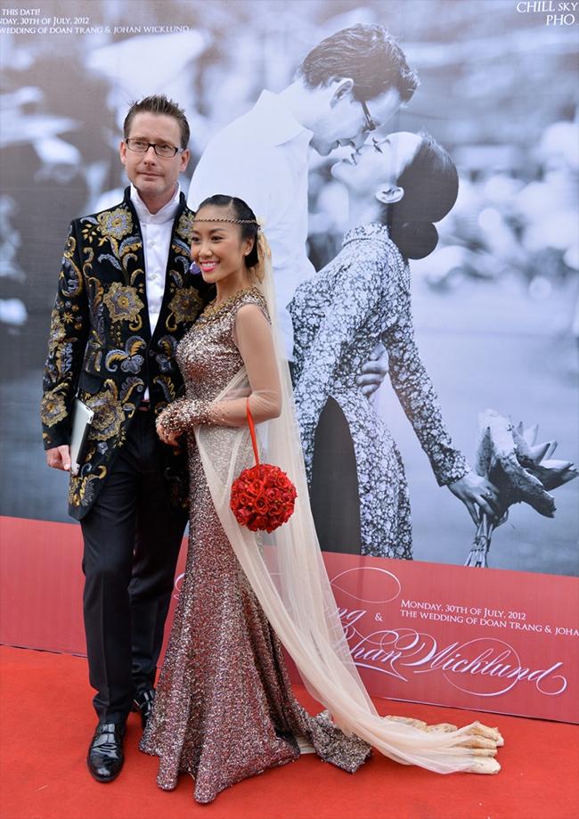 Tuy không quá quy mô và hoành tráng, thế nhưng đám cưới của Đoan Trang vẫn thu hút rất nhiều sự chúývàđược thực hiệntheo hai phong cách Tây - Tahài hòa và thú vị.