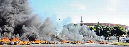 Bạo loạn ở Confed Cup 2013 - 1