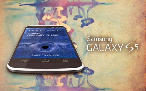 Samsung Galaxy S5 bản concept đẹp lung linh - 1