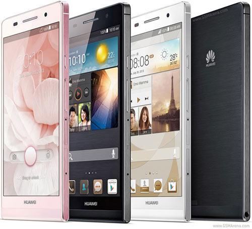 Huawei Ascend P6 trở thành smartphone mỏng nhất thế giới - 1