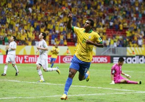 "Brazil: Không cần trung phong ""sắc""? - 1"