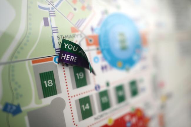 Bản đồ dẫn đường sẽ là chìa khóa để khán giả có thể biết đường đi tới sân đấu họ muốn.