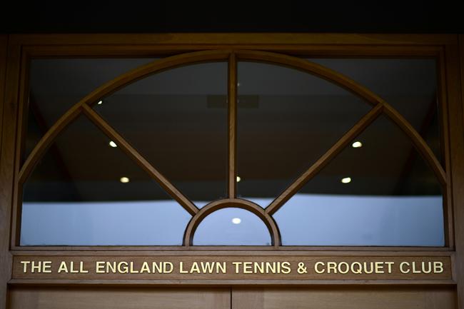 Lối vào câu lạc bộ All England Club, nơi được thành lập vào ngày 23/7/1868.