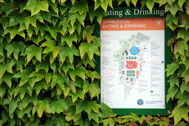 Bản đồ hướng dẫn chi tiết những khu ăn uống phục vụ khán giả tới theo dõi các trận đấu.