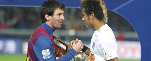 Messi chuẩn bị đối đầu Neymar ở Peru - 1