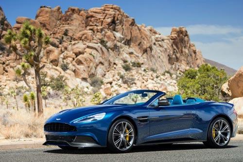 """Aston Martin Vanquish Volant: """"Nữ hoàng"""" quyến rũ - 1"""