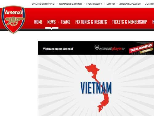 Phía Arsenal hứa chỉnh sửa lại bản đồ VN - 1