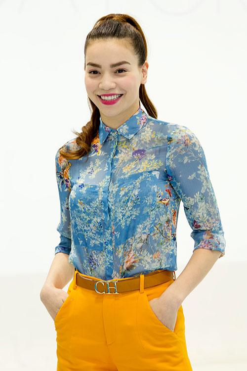 Hồ Ngọc Hà làm cô giáo dạy Yoga - 1