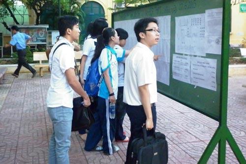 TP.HCM: Hơn 40.000 thí sinh thi vào lớp 10 - 1
