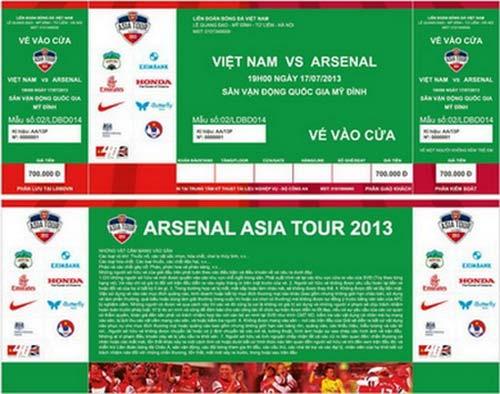 Đón Arsenal: Cuộc chiến với vé giả, phe vé - 1