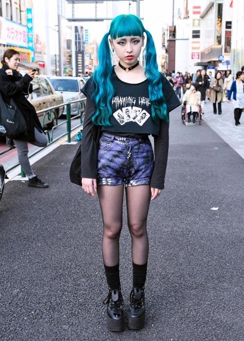 4 style độc khiến giới trẻ Nhật si mê - 1