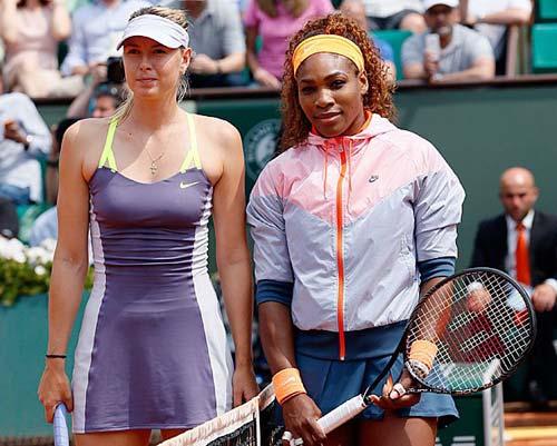 Sharapova & Serena khẩu chiến nảy lửa - 1