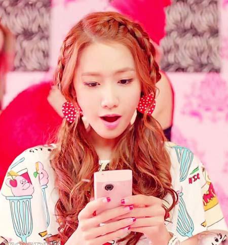 Tóc tết hai bên ngọt ngào như Yoona - 1