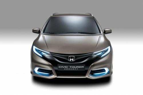 Honda Civic Tourer Type S sắp ra mắt - 1