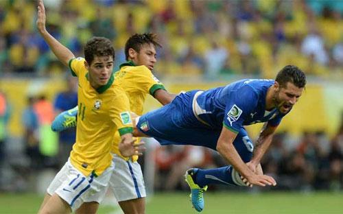 "Neymar: Đá hay, ""chém"" cũng giỏi - 1"