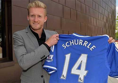 Schurrle ra mắt Chelsea - 1