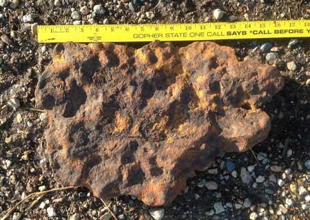 Tìm được thiên thạch 1 tỷ năm tuổi - 1