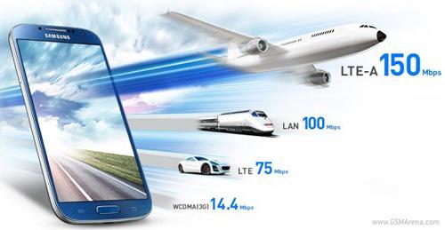 Samsung Galaxy S4 LTE-A siêu tốc ra mắt - 1
