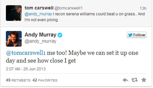 Murray không thắng nổi Serena? (Nhật ký Wimbledon ngày 2) - 1