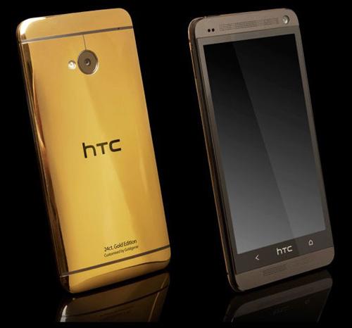 HTC One mạ vàng giá 61 triệu đồng - 1