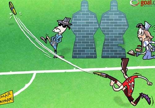 Hài bóng đá: Bí quyết giúp Persie hơn Rooney - 1