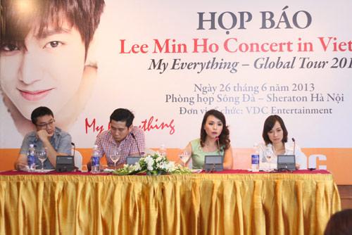 12 tỷ cho liveshow Lee Min Ho tại Hà Nội - 1