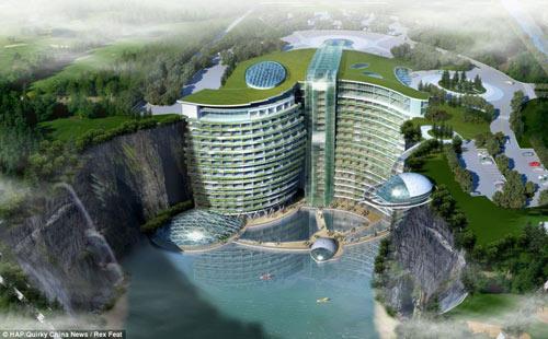 TQ xây khách sạn 5 sao dưới mỏ đá bỏ hoang - 1