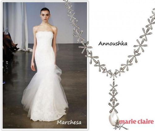 Chọn trang sức theo dáng váy cưới - 1