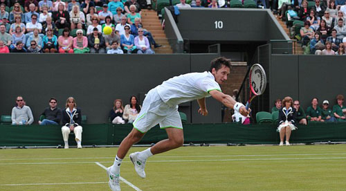 Người hạ Federer sớm rời Wimbledon - 1