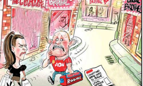 Hài bóng đá: Rooney ăn mừng - 1