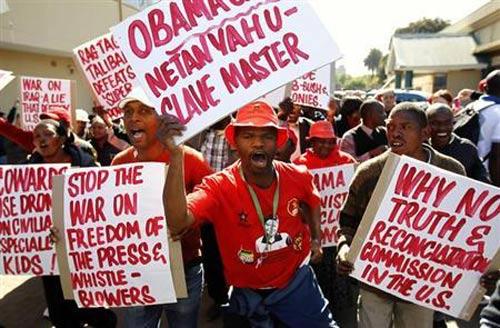 Người dân Nam Phi: Mandela thất vọng về Obama - 1