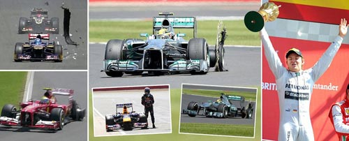 Video F1 British GP: Vinh danh Rosberg - 1