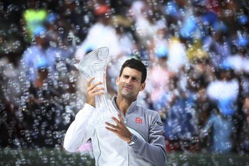Djokovic vô địch Miami Masters qua các con số - 1