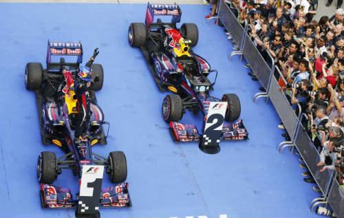 Malaysian GP – Phía sau vạch đích (P1) - 1