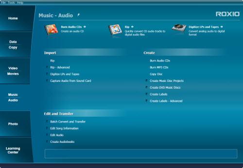 Xử lý âm thanh chuyên nghiệp với Roxio Creator NXT Pro - 1