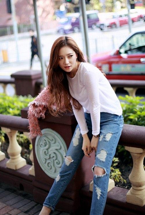 Cô gái mùa hè cần một chiếc jeans rách! - 6