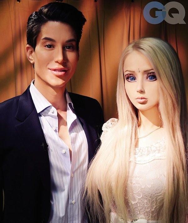 Búp bê Barbie phiên bản đời thực gây sốc - 1