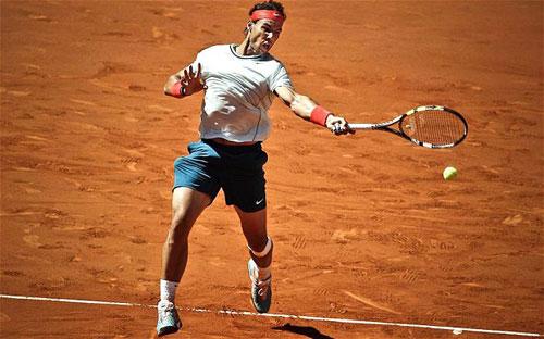 """Vì sao Nadal là """"Vua đất nện""""? - 1"""