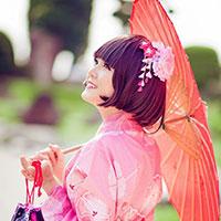 Lily Luta xinh đẹp hóa thân thành cô gái Nhật