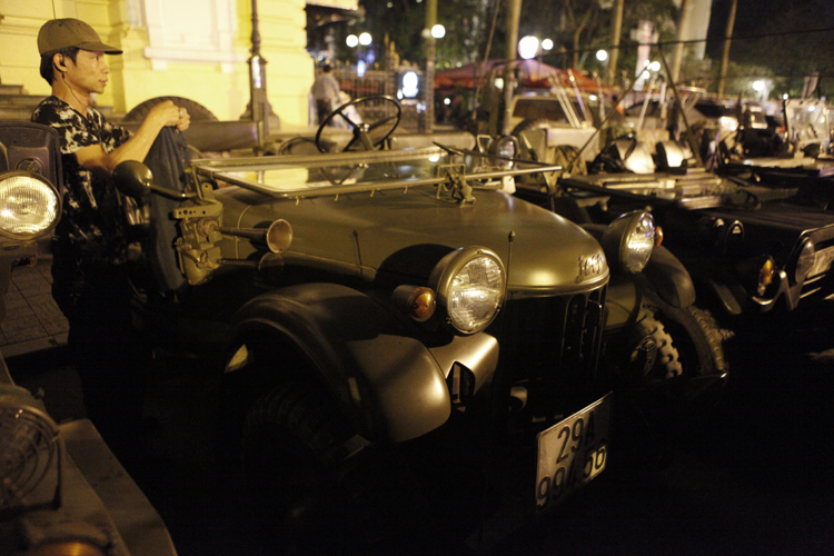 Đây là chiếc Bantam cổ nhất trong các mẫu xe Jeep tại Việt Nam