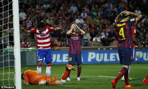 Barca lại thua: Không ai còn sợ Gã khổng lồ - 1
