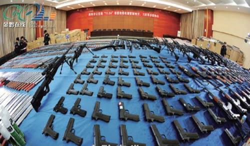 TQ: Phá đường dây sản xuất súng cỡ sư đoàn - 1