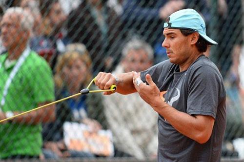 """Nadal tập với """"quân xanh"""" bí ẩn trước Monte-Carlo - 1"""